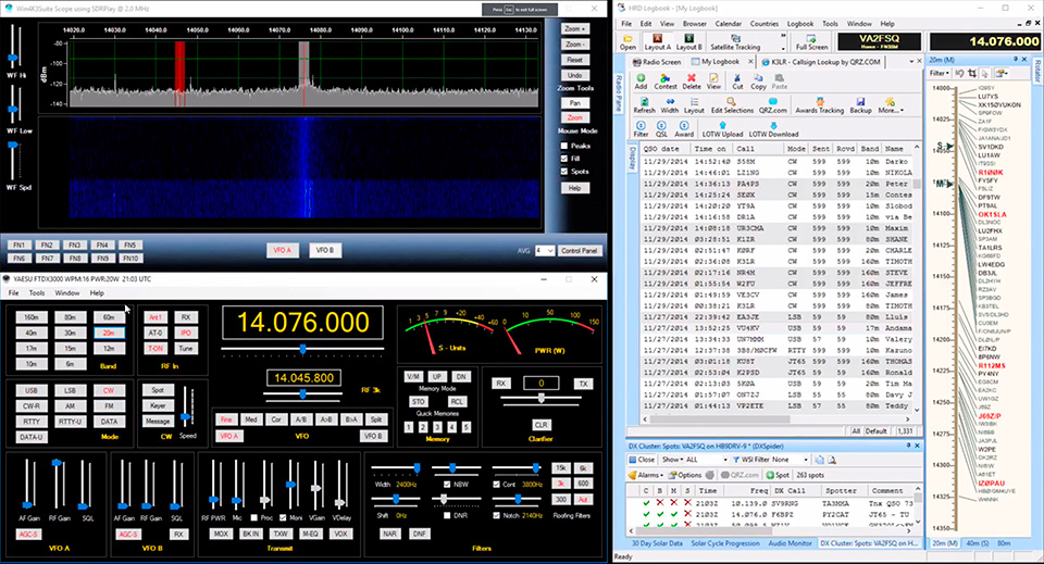 Windows for Yaesu Suite - Win4YaesuSuite for the FTDX and FT
